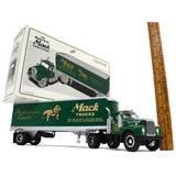 "Excellent FIRST GEAR ""MACK 1960 Mo. B-61 TRACTOR & TRAILER"" 1:34 Diecast BULLDOG"