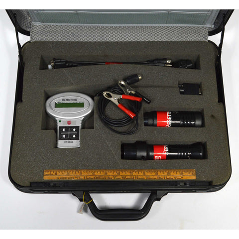 "New (Open Case) MAC TOOLS ""OIL RESET TOOL"" No. ET3596 Complete in Briefcase!"