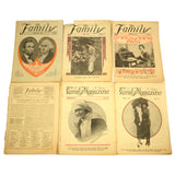"Antique ""THE FAMILY"" MAGAZINES Lot of 9 BACK-ISSUES 1916 & 1917 Springfield, OH"