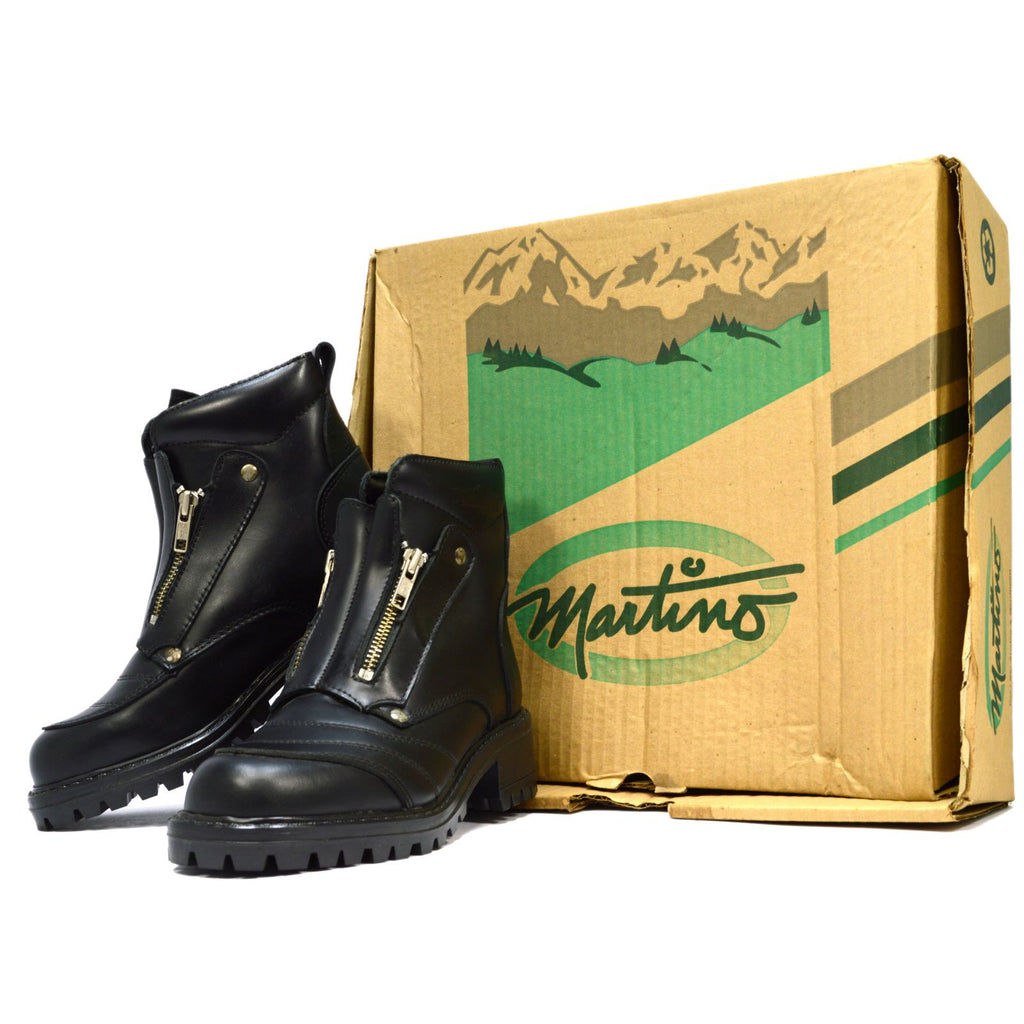 "New Old Stock MARTINO LADIES ""WALKER"" BOOTS #52-5706 Style 44316 Black SIZE: 6"