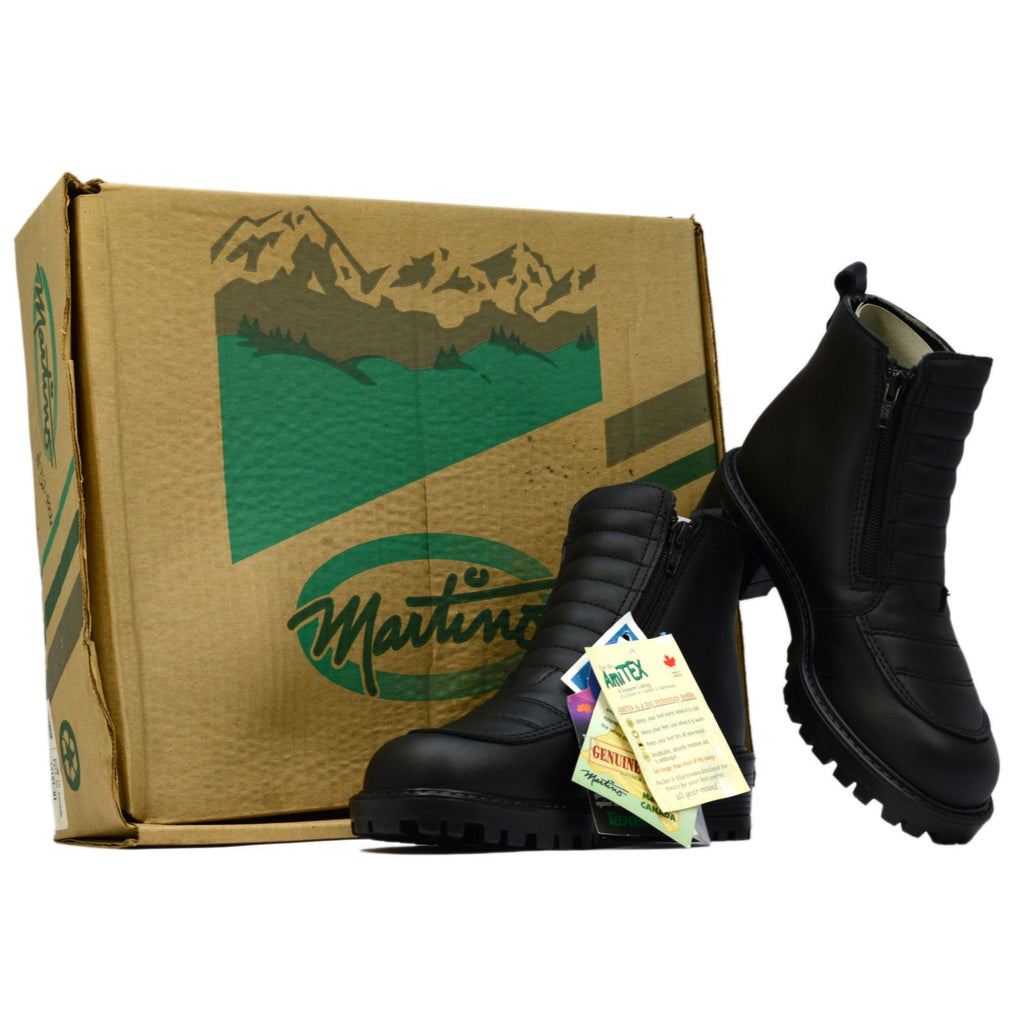 "New Old Stock MARTINO LADIES ""WALKER"" BOOTS #52-4006 Style 44161 Black SIZE: 6"