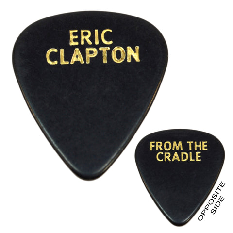 "Vintage ERIC CLAPTON ""FROM THE CRADLE"" GUITAR PICK Very Rare! USED ON STAGE!!"