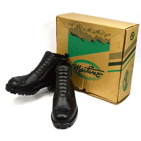 "New Old Stock MARTINO LADIES ""WALKER"" BOOTS #52-4011 Style 04225 Black SIZE: 11"