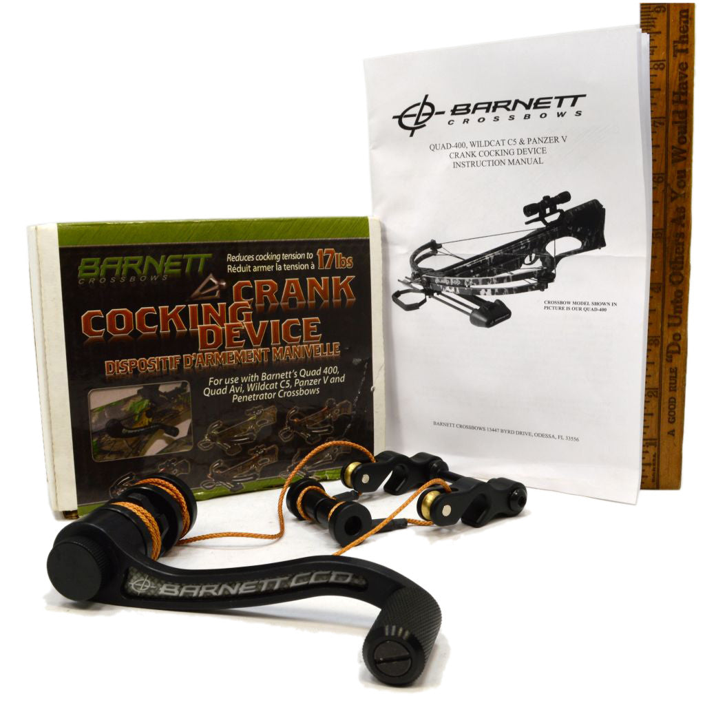 New in Box BARNETT OUTDOORS Crossbow CRANK COCKING DEVICE Multiple  Available!