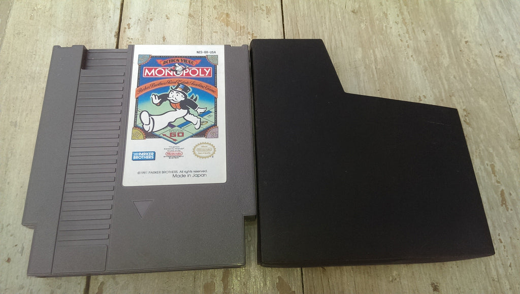 Monopoly NES Game Cartridge only Nintendo