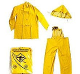 NEW! Heavy Duty Yellow 3 PC. Rain Suit Style 335 Sz XXL