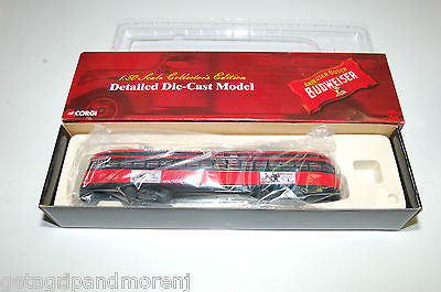 Corgi 1:50 Scale Detailed Die-Cast Model Budweiser Train
