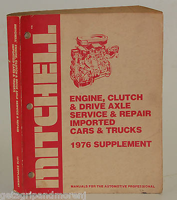 Mitchell Manual 1976 Engine Clutch Supplement