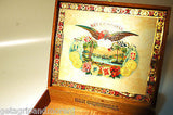 SAN CRISTOBAL MONUMENTO  WOODEN  CIGAR BOX  HAND MADE IN NICARAGUA