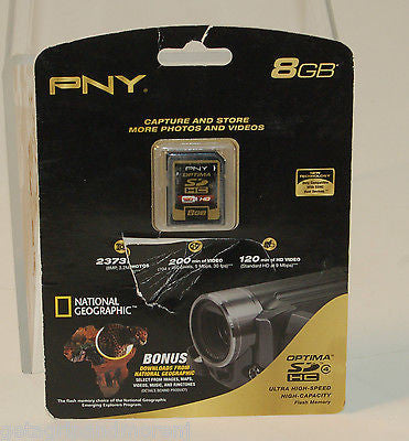 PNY 8 GB Memory NEW IN BOX!!!