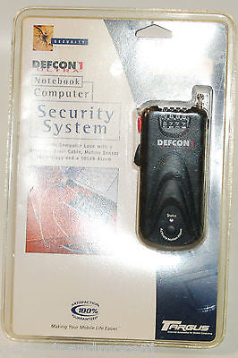 Targus PA400U DEFCON 1 Ultra Notebook Computer Security System NEW!!!!