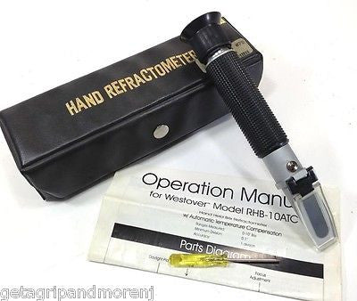 HAND REFRACTOMETER Model RHB-10ATC