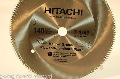 Hitachi 725216 140-Teeth 7-1/4-Inch Steel Saw Blade