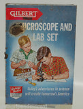 Gilbert Microscope and Lab Metal BOX ONLY VINTAGE!!!
