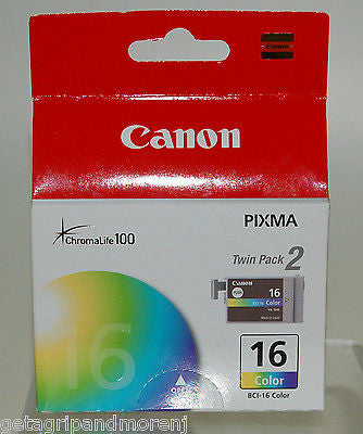 Canon BCI-16 Twinpack Color Ink Cartridges !!Retail Packaging!!