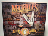 Marbles Large Rare 100 Years Centenial Buck Pocket Knife NEW!