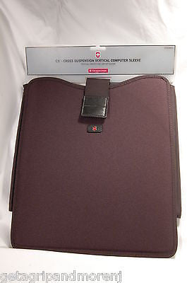 "Victorinox Swiss Army CS2 Vertical 15"" inch Computer Sleeve - NEW!!"