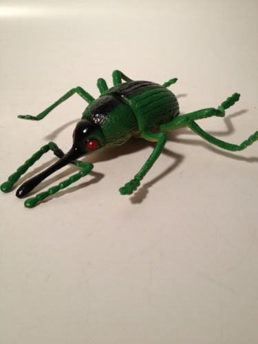 9 Fun Toy Rubber Locust Insect Novelty Bug Grasshoppers