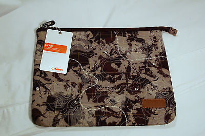Laptop Computer Sleeve Gravis L-Case Neoprene 12-13in NEW!