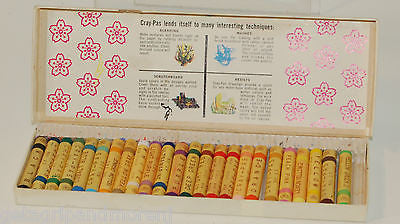 Sakura Cray-Pas Oil Colors in Stick Form Vintage!!!