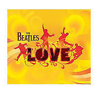 The Beatles Love CD & DVD-Audio Two Disc SET - Brand New!