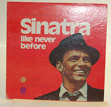 Sinatra like never before LP Record 1973 !!GOOD CONDITION!!