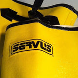 "NEW! Servus 18"" Yellow Rubber Overboots Sz 7 Mens 8 1/2 Womans Model A380"