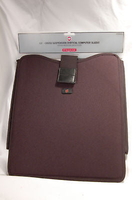 Victorinox CS2 Laptop Sleeve Black NEW!!!