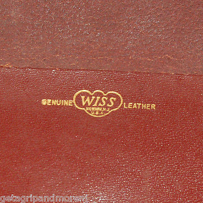 WISS Leather Case ONLY!!! RARE!!!!