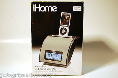 iHome iH11BM Alarm Clock for iPod, MP3 Players others - NEW!!