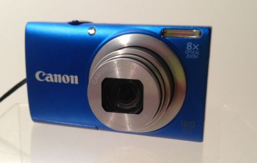 Canon PowerShot 16 MP A4000 IS Digital Camera Blue Never Been Used!!!