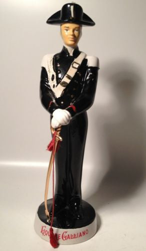 Coronetti Vintage Liquore Calliano Soldier & Sword Figure Decanter!!