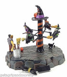 Halloween Sculpture Sweepy McCurdles Broom Dealership