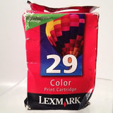 Lexmark #29 (18C1429) Color Ink Cartridge New!