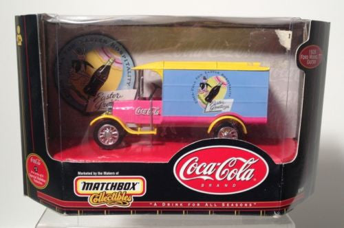 Coca Cola Ford Model Matchbox Collectible 1926