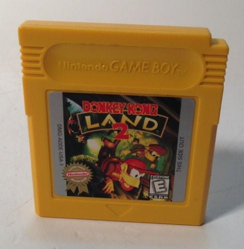 Donkey Kong Land 2 Nintendo Game Boy Color Works Great