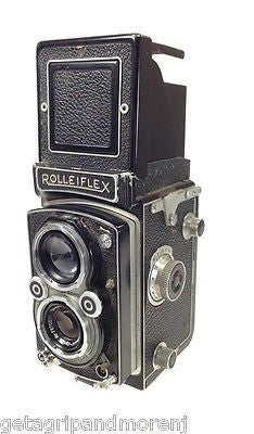 ROLLEIFLEX 3.5 Film Camera Made in Germany Carl Zeiss Vintage Antique