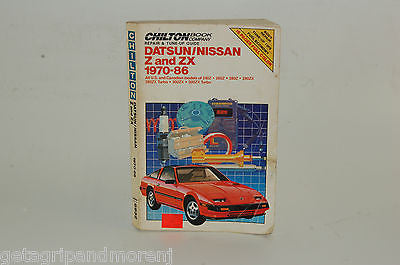 Repair and Tune-up Guide for Datsun/Nissan Z and ZX 197