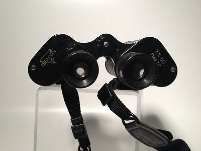 Beacon Vintage  Binoculars (with case) Made In Occupied JAPAN-WWII  7X50 Rare!