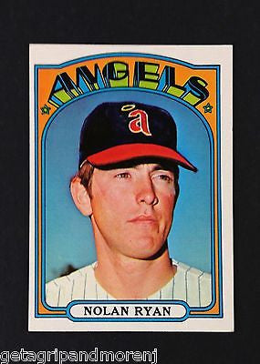 Topps 1972 Nolan Ryan #595 Hall of Fame