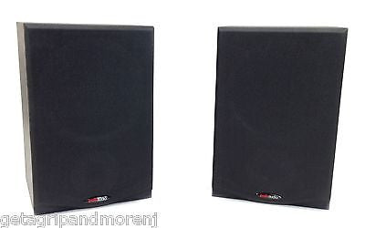 "Polk Audio R150 2-Way Bookshelf Speaker with 5-1/4"" Driver - Pair (Black)"