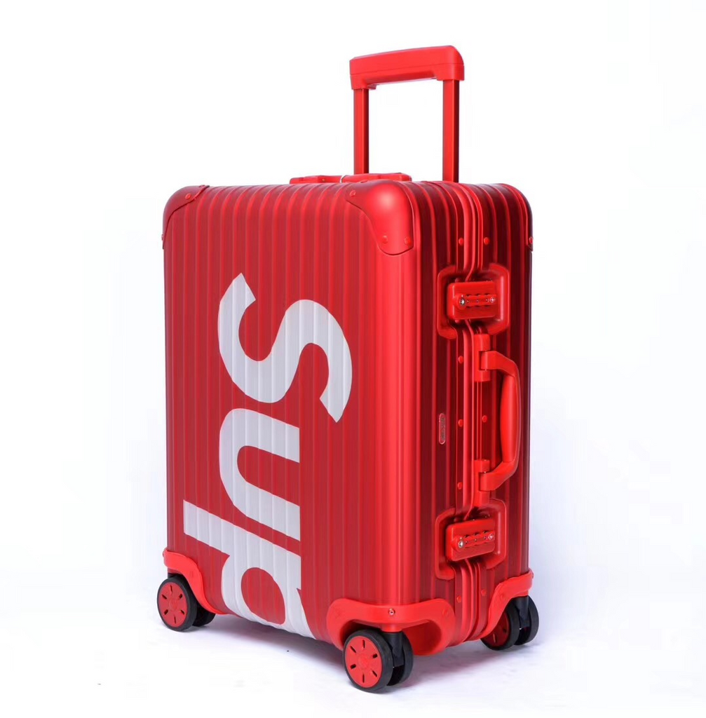 Red 45L Luggage