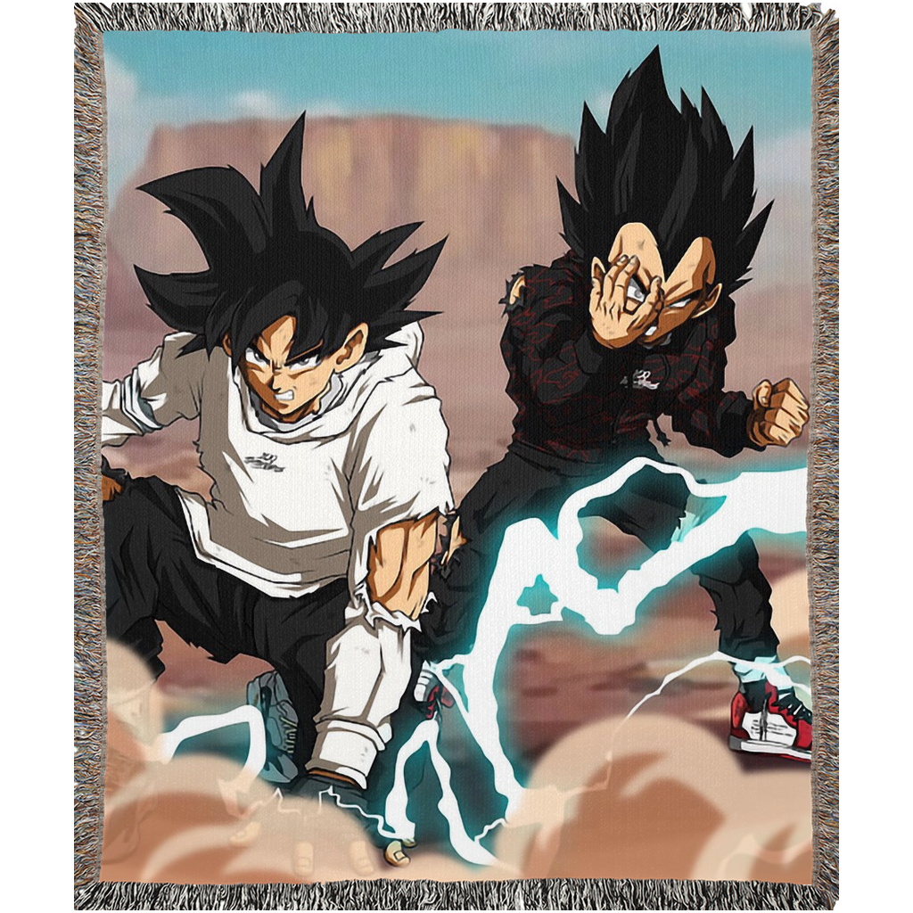 Dragon Ball Z Throw Blanket