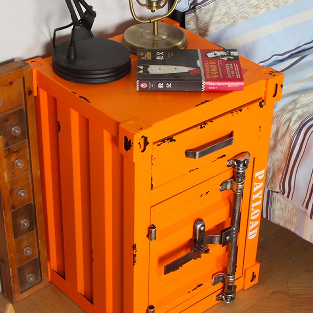 Shipping Container Night Stand