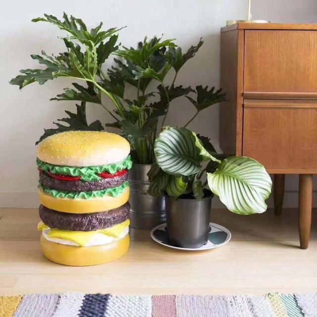 Nigo's Hamburger Stool