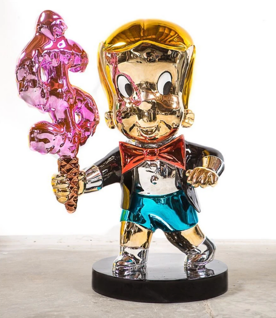 Richie Rich Ice Cream Sculpture