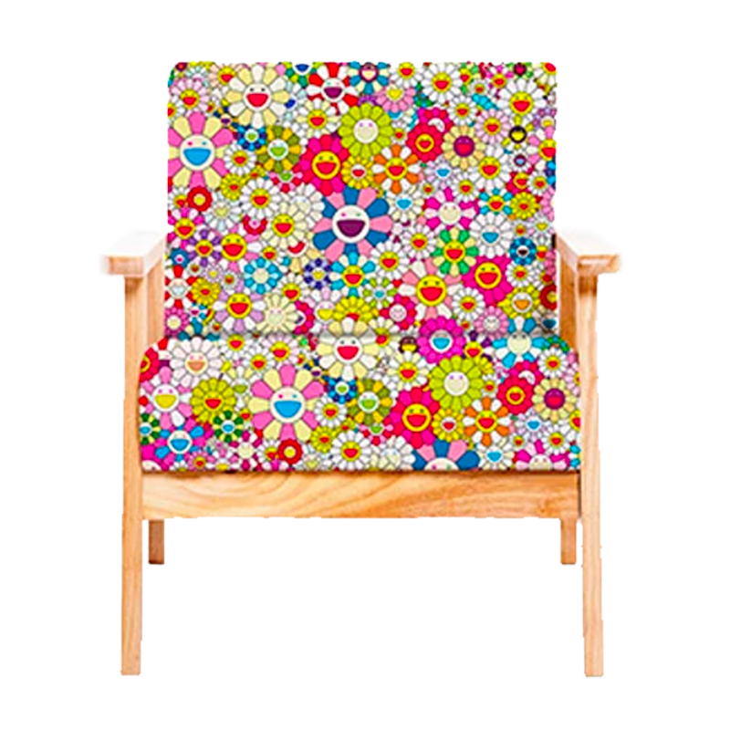 Murakami's Happy Flower Chair