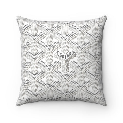 Goyart Throw Pillow- Grey