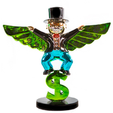 Monopoly Money Wing Sculpture