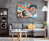 Astroboy Doomed Canvas Print